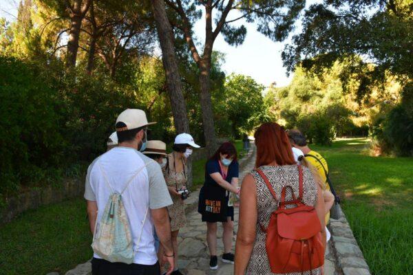 visita guiada ruta cultural conjunto arqueológico de Itálica, Santiponce, anfiteatro romano, domus, Hispalis, Hispania