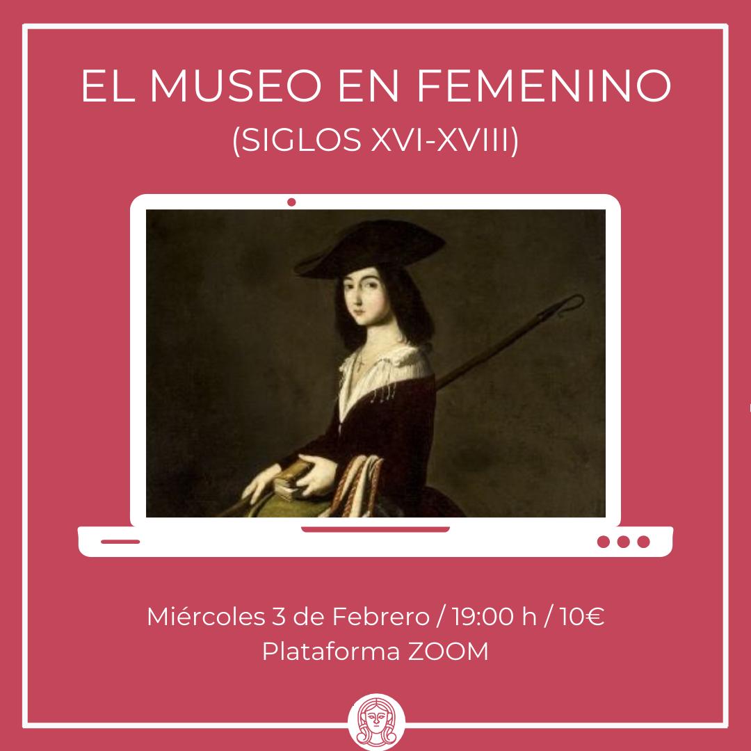 Visita online, el Museo en femenino