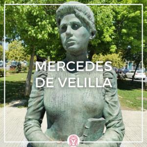 monumento a la escritora Mercedes de Velilla, en Camas, Sevilla