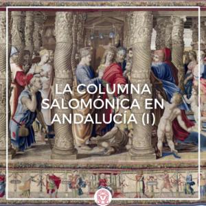 columna salomónica en Andalucía